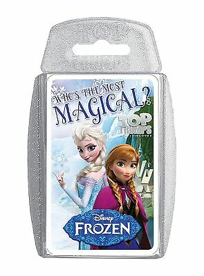 Disney Frozen Top Trump Trumps Playing Card Game