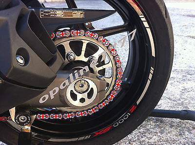 Sticker De Chaine Triumph Speed Triple Street Triple Daytona Union Jack Flag