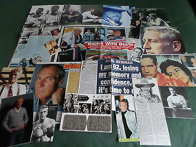 Paul Newman - Film Star  - Clippings /cuttings Pack