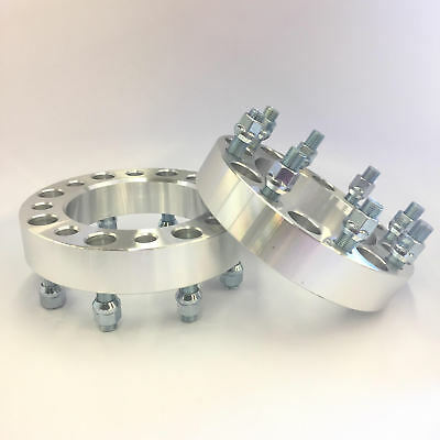 (2) Wheel Spacers  ¦ 8X6.5 TO 8X6.5 (8x165.1) ¦ 14X1.5 ¦ 1 INCH 25mm Chevy GMC