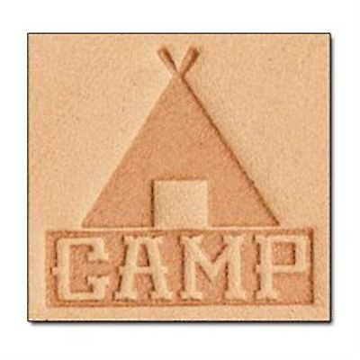 Camp 3D Stamp 8677-00 by Tandy Leather Craftool