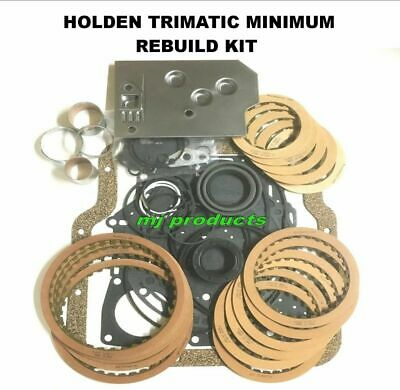 trimatic rebuild kit GM holden,gaskets,seals,frictions,filter, 4-6-8 cyl,bushes