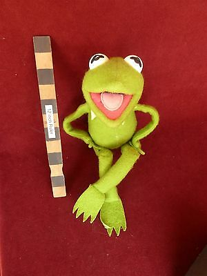 Vintage 1976 Fisher Price Kermit The Frog Plush Jim Henson Muppet Doll nice