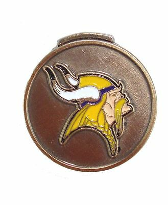 Minnesota Vikings Hat Clip with Golf Ball Marker