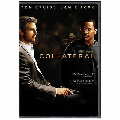 Collateral (DVD, 2004, 2-Disc Set) Starring Tom Cruise and Jamie Foxx (S5)