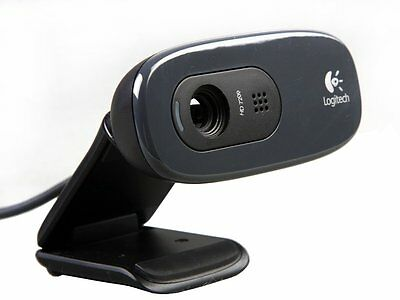 Logitech HD Webcam C270 720p video 3MP CAMERA Skype MSN Built-in mic RightSound