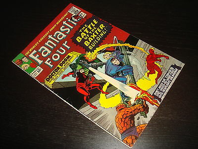 FANTASTIC FOUR #40   Lee / Kirby Silver Age Marvel Comics 1965 FN++, maybe VFN-