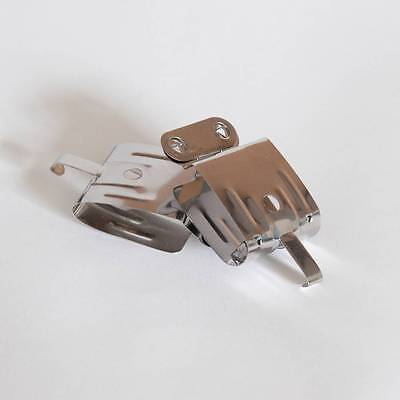 Kood Stainless Steel Film Hanging Clips Pair Weighted Film Developing Processing