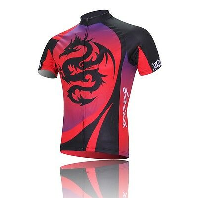 New Dragon Cycling Jerseys Bike Bicycle Clothing Short Sleeve Jersey Top