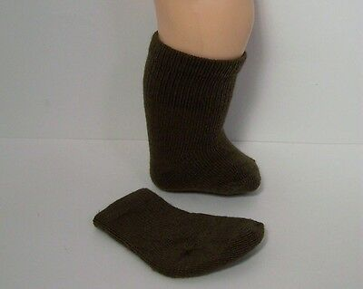 "BROWN Socks Doll Clothes For 16"" Terri Lee DEBs"