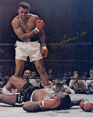 """Muhammad Ali Preprinted 5 Photos 8x10"""" Cassius Clay Boxing Champion Pictures NEW"""