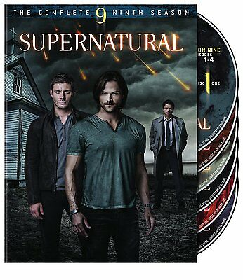Supernatural : Season 9 DVD, 2014, 6-Disc Set R4 New Sealed