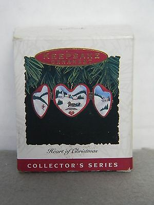 HEART OF CHRISTMAS - #4 in Series - HALLMARK KEEPSAKE ORNAMENT 1993 (no tag)