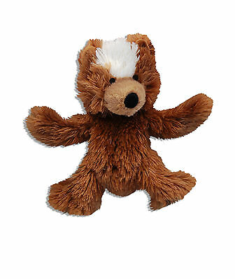 Kong Plush Teddy Bear Dr Noys Unstuffed Cute Dog Toy Great Value + Extra Squeak