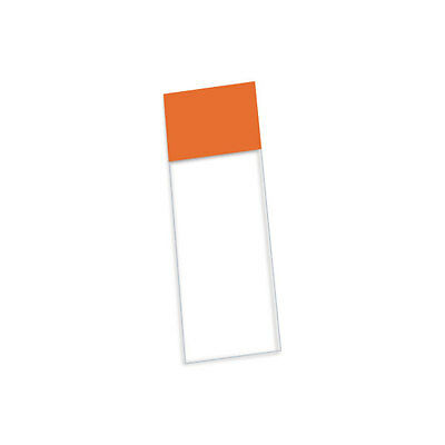 Charged Premium Slides 90° Clipped Corners - Orange 1 cs