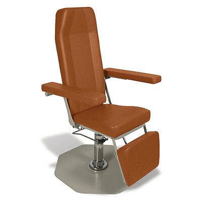 Reclining Draw Chair Manual  Standard Vinyl 1 ea