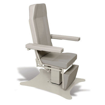 Reclining Electric Phlebotomy Chair with CAL 133 Fire Code Vinyl Sand Grey 1 ea