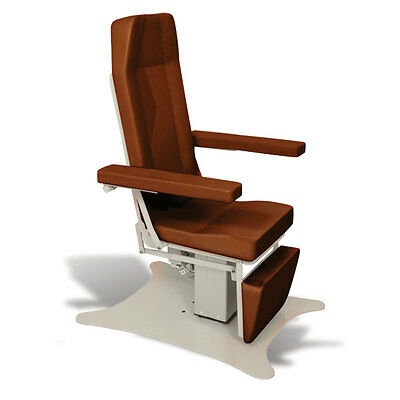 Reclining Electric Phlebotomy Chair with CAL 133 Fire Code Vinyl Adobe 1 ea
