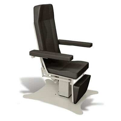 Reclining Electric Phlebotomy Chair with CAL 133 Fire Code Vinyl Mocha 1 ea