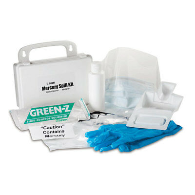 Mercury Spill Clean Up Kit with Hard Case 1 ea