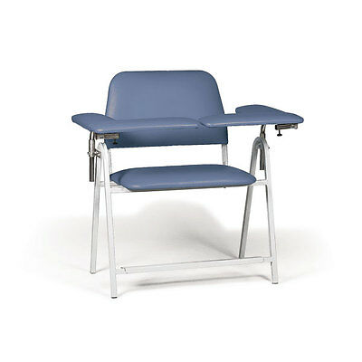 "Tall Height Blood Draw Chair Extra-Wide  45""W x 29""D x 43""H 1 ea"