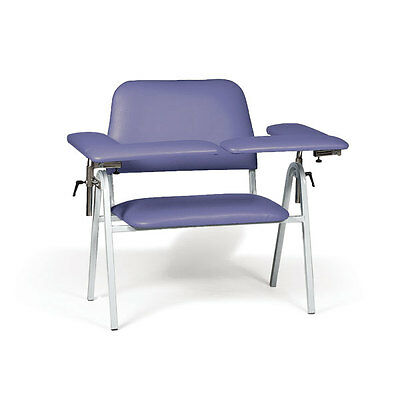 "Standard Height Blood Draw Chair Extra-Wide  45""W x 29""D x 38""H 1 ea"
