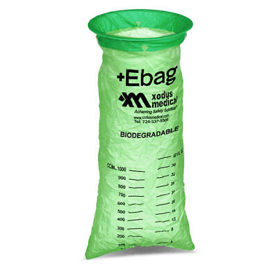 Biodegradable Emesis Bags Green 24 pk