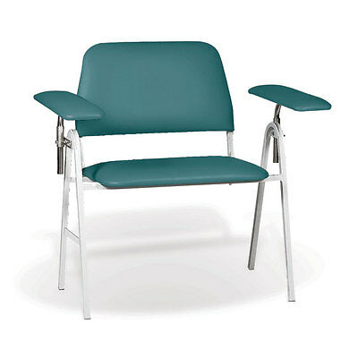 "Standard Height Blood Draw Chair Bariatric  40""W x 27""D x 44""H 1 ea"