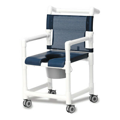 Shower/Commode Chair Deluxe with Padded Seat 1 ea