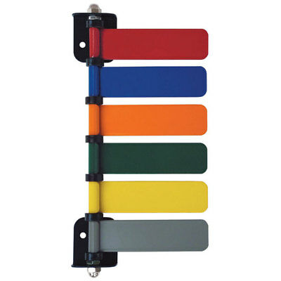 """Six-Flag Room I.D. System 4"""" Flags  Overall: 5""""W x 1""""D 1 ea"""