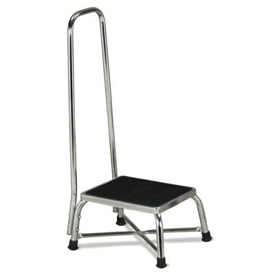 "Bariatric Step Stool with Handrail  11.25""W x 14.25""D x 36""H 1 ea"