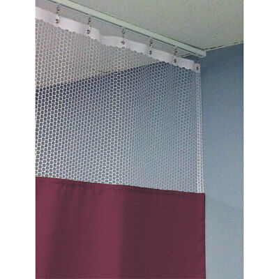 "84""H Patient Privacy Curtains 72""W with 60"" Straight Track 1 ea"