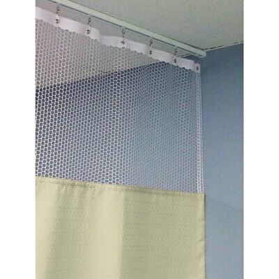 "90""H Patient Privacy Curtains 42""W with 36"" Straight Track 1 ea"