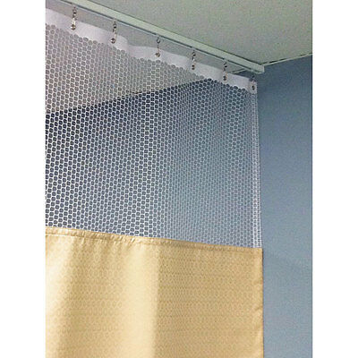 "90""H Patient Privacy Curtains 54""W with 48"" Straight Track 1 ea"