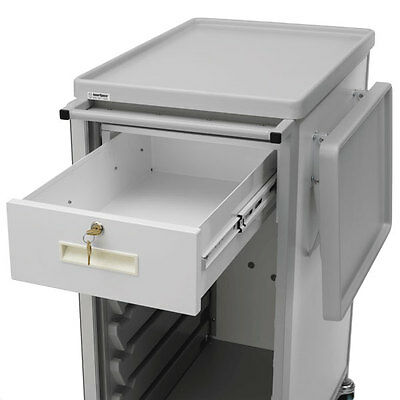 """9-Cell Narrow Cart 6""""H Locking Drawer (uses 2 cells)  1 ea"""