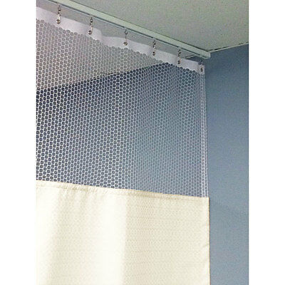 "84""H Patient Privacy Curtains 54""W with 48"" Straight Track 1 ea"