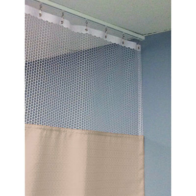 "90""H Patient Privacy Curtains 84""W with 36"" x 36"" L Track 1 ea"