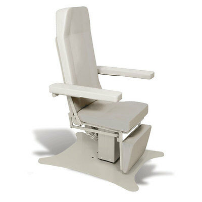 Reclining Electric Phlebotomy Chair with CAL 133 Fire Code Vinyl River Rock 1 ea