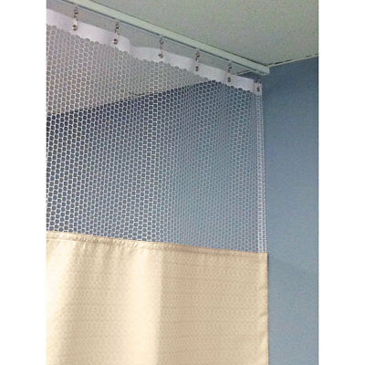 """84""""H Patient Privacy Curtains 42""""W with 36"""" Straight Track 1 ea"""