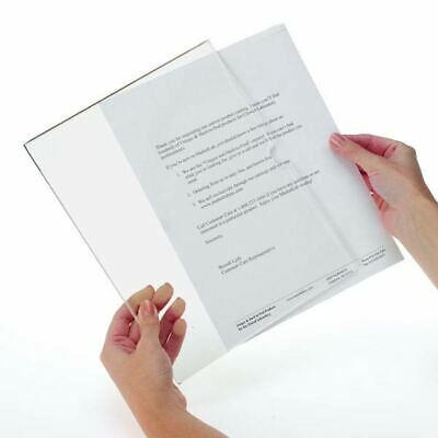 "Letter Size Page Frame for 8.5"" x 11"" Paper Magnetic-Mount 2 pk"