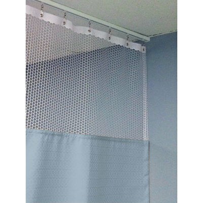 """90""""H Patient Privacy Curtains 108""""W with 48"""" x 48"""" L Track 1 ea"""