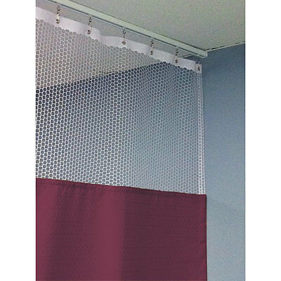 "90""H Patient Privacy Curtains 108""W with 48"" x 48"" L Track 1 ea"