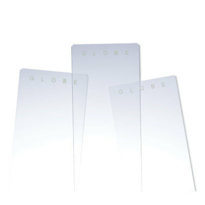 Plain White Glass Slides 90 Corners 1440 pk