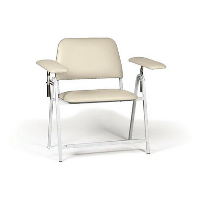 "Tall Height Blood Draw Chair Bariatric  50""W x 29""D x 43""H 1 ea"