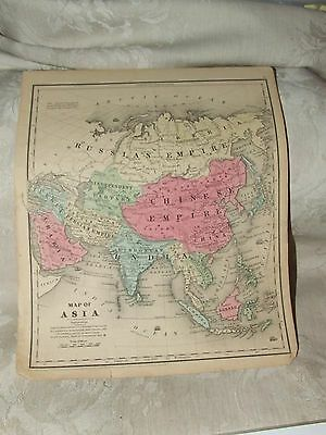 1848 MAP ASIA Cady & Burgess Roswell C Smith from Quarto Geography