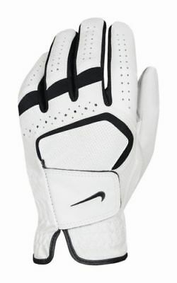 Nike Dura Feel IV Ladies Golf Glove White/Black - Left Hand - Pick Size