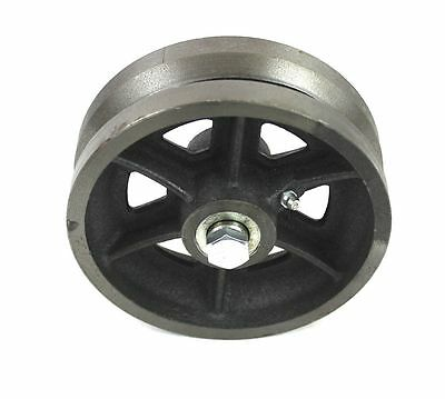 "6"" Cast Iron V-Groove Wheel For Sliding/Rolling Gate"
