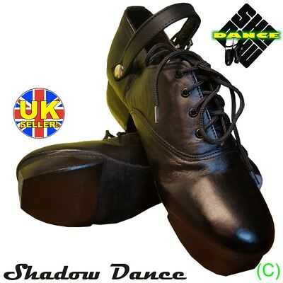 Brand New! Irish Heavy Shoes Jig Hard Dance Dancing Genuine Leather (Cc)