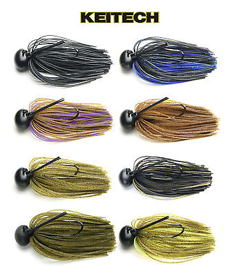 Keitech Tungsten Model Ii Football Jig 3/8 Oz. Various Colors