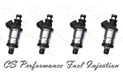 Flow Matched Fuel Injector Set for Honda 1.6 1.8 2.0 2.3  I4  (4)